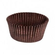 Капсула бумажная для выпечки 50*25коричневая, 25 шт.