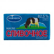 """Масло сливочное """"Коровка"""" Экомилк, 82,5%, 180 гр."""