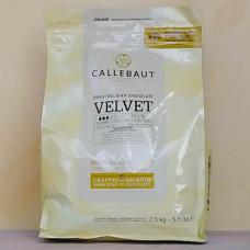 Шоколад Callebaut Velvet 33,1% какао, 2,5 кг.