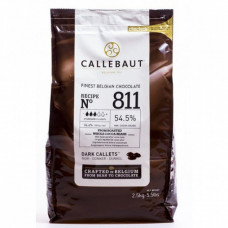Шоколад Callebaut тёмный, 2,5 кг.