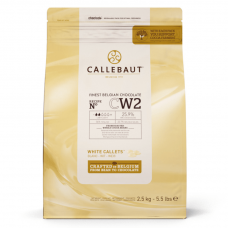 Шоколад Callebaut белый, 2,5 кг.