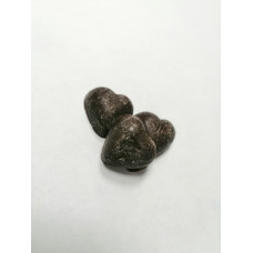 Шоколадные сердца темные, 100 гр