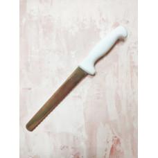 Нож для бисквита, 20 см. с крупными зубчиками