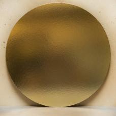 Подложка усиленная золото/жемчуг D16 см. 1,5 мм.