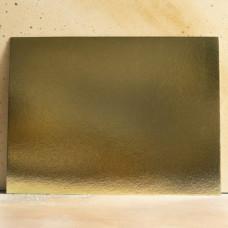 Подложка усиленная золото/жемчуг 30*40 см. 1,5 мм.