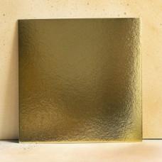 Подложка усиленная золото/жемчуг 24*24 см. 1,5 мм.
