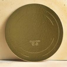 Подложка усиленная золото D36 см. 2,5 мм.
