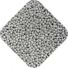 Шарики серебро 2 мм