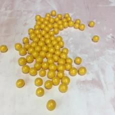Драже воздушный рис, 6 мм, золотой