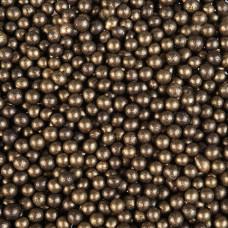 Драже воздушный рис, 12-13 мм, бронза