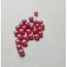 Драже воздушный рис, 6 мм, розовый