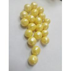 Драже воздушный рис, 12-13 мм, золото