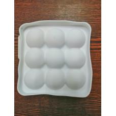 Силиконовая форма «Сладкие шарики», 14,8×4,1 см