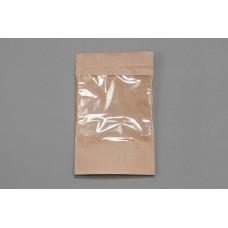 """Пакет """"Дой-пак"""" бумажный с окном 105*185 см"""