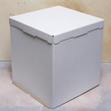 Короб картонный для торта белый 300*300*190 мм Хром-Эрзац