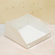 Короб для тортов с прозрачной крышкой 225*225*100